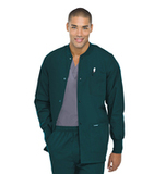 Men's Warmup Jacket Hunter Green Thumbnail