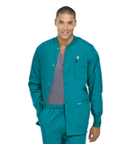 Men's Warmup Jacket Teal Thumbnail
