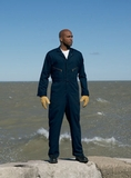 Men's Zip-front Cotton Coverall Thumbnail