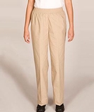 Misses Solid Pull-on Pant White Thumbnail