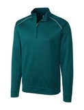 Cutter & Buck Men's Weathertec Big & Tall Ridge Pullover Midnight Green Thumbnail