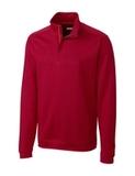 Men's Cutter & Buck Pima Cotton Decatur Pullover Cardinal Red Thumbnail