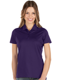 Antigua Women's Balance Polo Dark Purple Thumbnail