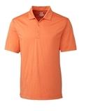 Cutter & Buck Men's DryTec Chelan Polo Shirt Orange Burst Heather Thumbnail