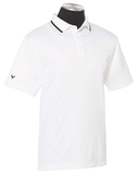 Callaway Men's Raised Ottoman Polo White Thumbnail
