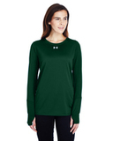 Women's Under Armour Long-Sleeve Locker T-Shirt 2.0 Forest Green Thumbnail