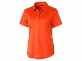 Ladies Prospect Textured Stretch Polo College Orange Thumbnail