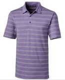 Forge Polo Heather Stripe Magestic Thumbnail