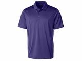 Men's Prospect Textured Stretch Polo College Purple Thumbnail