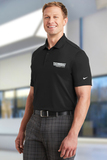 Nike Golf Dri-FIT Players Polo with Flat Knit Collar Black Thumbnail