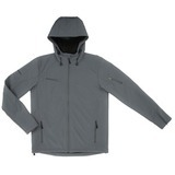 Women's Reebok Hooded Softshell Graphite Thumbnail