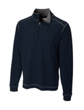 Men's Cutter & Buck Big & Tall Overtime Pullover Navy Blue Thumbnail