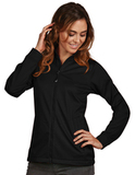 Antigua Women's Full-Zip Golf Jacket Black Thumbnail