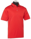 Callaway Men's Raised Ottoman Polo Salsa Red Thumbnail