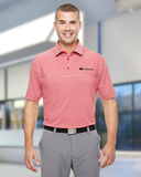 Under Armour Men's Clubhouse Polo Red with True Grey Thumbnail