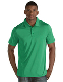 Antigua Quest Polo Shirt Celtic Green with White Thumbnail