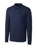 Cutter & Buck Pima Cotton Big & Tall Long Sleeve Belfair Mock Turtleneck Liberty Navy Thumbnail