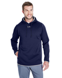 Under Armour Men's Double Threat Armour Fleece Hoodie Midnight Navy Thumbnail