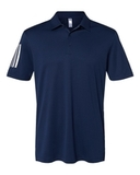 Floating 3-Stripes Sport Shirt Team Navy Blue with White Thumbnail