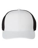 Poly Trucker Cap White with Black Thumbnail