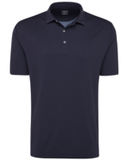 Callaway Men's Diamond Jacquard Polo Peacoat Thumbnail