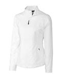 Women's Cutter & Buck WeatherTec Beacon Full Zip Jacket White Thumbnail