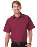 Peach Touch Twill Shirts-Woven Shirts Burgundy Thumbnail