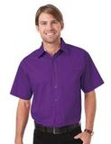 Peach Touch Twill Shirts-Woven Shirts Purple Thumbnail