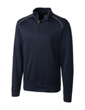 Cutter & Buck Men's Weathertec Big & Tall Ridge Pullover Navy Blue Thumbnail