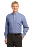 Plaid Pattern Easy Care Shirt Thumbnail