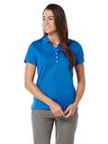 Women's Callaway Ottoman Knit Polo Shirt Magnetic Blue Thumbnail