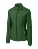 Women's Cutter & Buck WeatherTec Beacon Full Zip Jacket Hunter Thumbnail