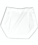 Poly / Cotton Tea Apron White Thumbnail