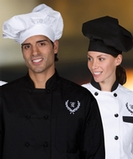 Poplin Chef Hat White Thumbnail