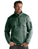 Antigua Men's Fortune Sweater-Knit Half-Zip Dark Pine Thumbnail