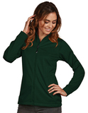 Antigua Women's Full-Zip Golf Jacket Dark Pine Thumbnail