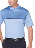 Modern Chest Stripe Polo Chambray Thumbnail