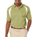 Men's Raglan Wicking Polo Vegas Gold Thumbnail