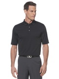 Callaway Opti-vent Knit Polo Shirt Black Thumbnail