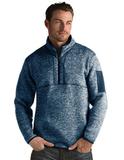 Antigua Men's Fortune Sweater-Knit Half-Zip Navy Thumbnail