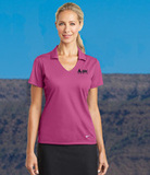 Women's Nike Golf Dri-FIT Vertical Mesh Polo