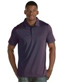 Antigua Quest Polo Shirt Navy with Dark Red Thumbnail