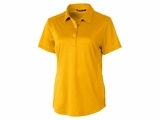 Ladies Prospect Textured Stretch Polo College Gold Thumbnail