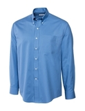 Men's Cutter & Buck Big & Tall Long Sleeve Epic Easy Care Fine Twill Atlas Thumbnail