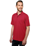 Vital Pocket Polo Red Thumbnail