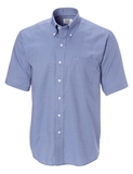 Big Tall Cutter & Buck Short Sleeve Epic Easy Care Nailshead French Blue Thumbnail
