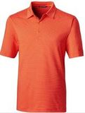 Forge Polo Pencil Stripe Big and Tall College Orange Thumbnail
