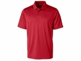 Men's Prospect Textured Stretch Polo Red Thumbnail