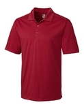 Cutter & Buck Men's DryTec Big & Tall Chelan Polo Shirt Cardinal Red Heather Thumbnail