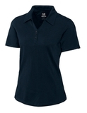 Women's Cutter & Buck DryTec Extended Sizes Championship Polo Shirt Navy Blue Thumbnail